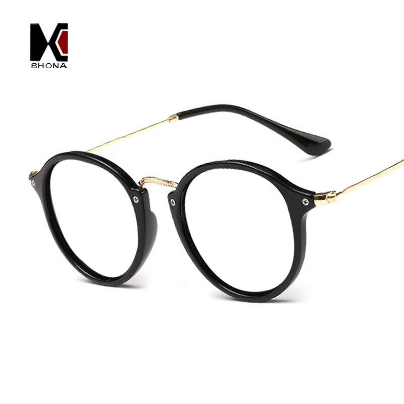 Vintage Round Frame Original Clear Lens Glasses Circling Frame Women Eyeglasses Men Oculos