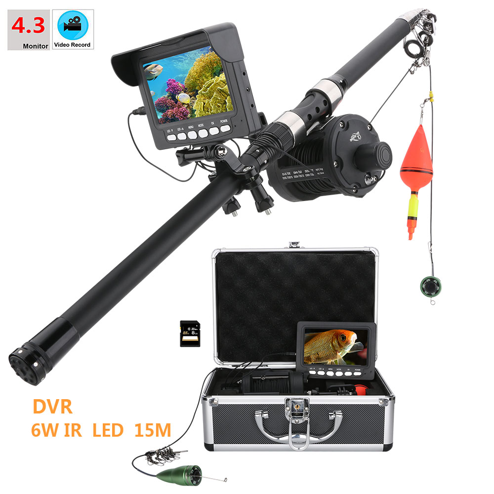 Security & Protection Selfless Aluminum Alloy Underwater Fishing Video Camera Kit 6w Ir Led Lights With 4.3 Inch Hd Dvr Recorder Color Monitor 15m To Enjoy High Reputation In The International Market