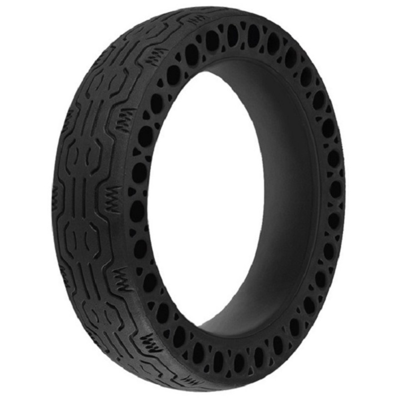 Durable Skateboard Wheels Rubber Anti-explosion Solid Rubber Pneumatic Front Rear Tire For Xiaomi Mijia M365 Electric Skateboard