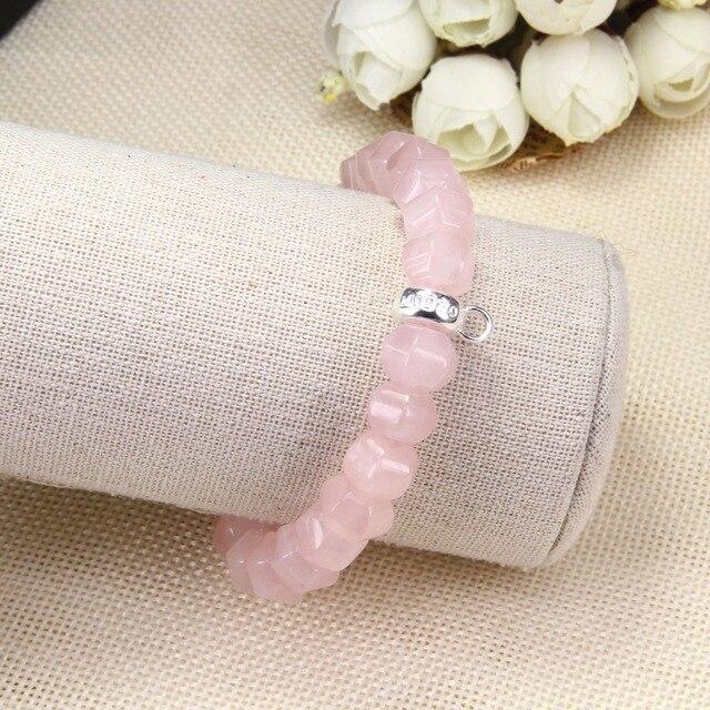 Thomas pentagon розовая роза очаровательные каменные бусины