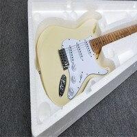 Hot Sell Good Quality FD ST Yngwie Malmsteen Electric Guitar Firehawk Scalloped Fingerboard Bighead Basswood Body