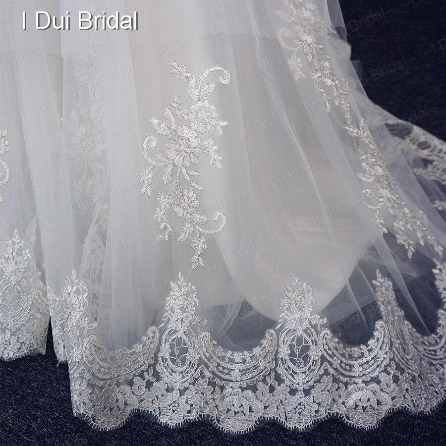 A linie Spaghetti Brautkleider mit Silber Ausgekleidet Spitze Perle ...