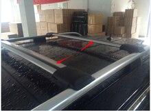 2 шт. Высокое качество! Универсальный 93 ~ 111 см багажник на крышу Крест-бар для авто внедорожник Offroad с противоугонным замком нагрузка 150LBS Топ багаж