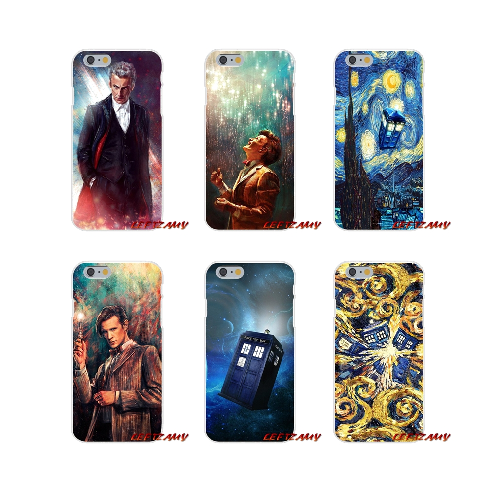 Phone Bags & Cases Dynamic For Samsung Galaxy S3 S4 S5 Mini S6 S7 Edge S8 S9 Plus Note 2 3 4 5 8 Accessories Phone Cases Covers Tardis Box Doctor Who Half-wrapped Case
