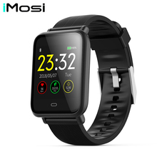 Imosi Q9 Blood Pressure Heart Rate Monitor Smart Watch IP67 Waterproof Sport Fitness Trakcer Men Women Smartwatch