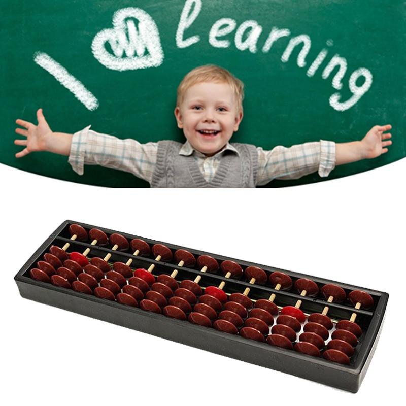 ABS Abacus 13 цифр арифметический инструмент для детей математика обучения помощи какуляционные игрушки подарки развивающие игрушки