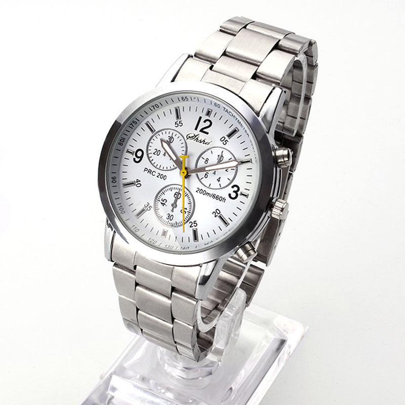 2018 New Famous Brand Men Silver Quartz Watch Women Stainless Steel Watches Relogio Casual Unisex Clock Wristwatch Hot Sale Hour top fashion simple classic style famous brand quartz watch women casual leather watches men hot clock reloj mujeres