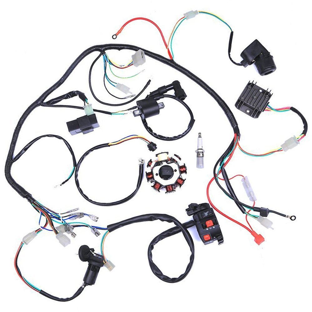 Mymotor Wiring Harness Kit Wire Loom