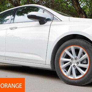 Image 5 - 8 メートル/ロール車のスタイリングホイールリムプロテクターストリップ車のステッカー装飾成形トリム IPA Rimblades て層状 10 色