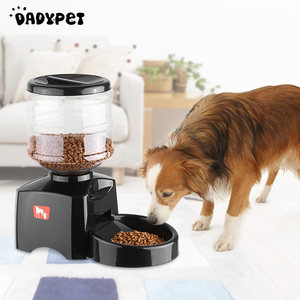 Beishuo 5 5l Lcd Automatic Pet Feeder For Cat Dog Electric