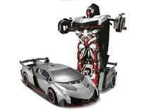 Sports Car Models Deformation Robot Transformation Electric remote control car toys transformes Deformation Rc Toys for Kid Gift
