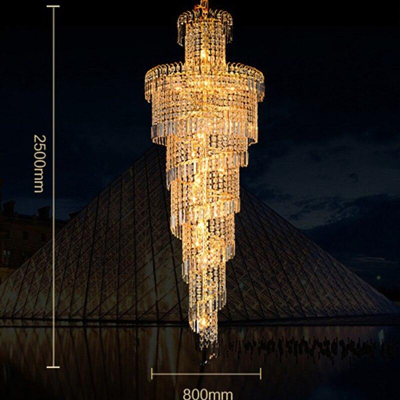 hotel hall gold pendant lights living room light fixtures led lighting lobby crystal lamp led pendant lamps modern pendant light