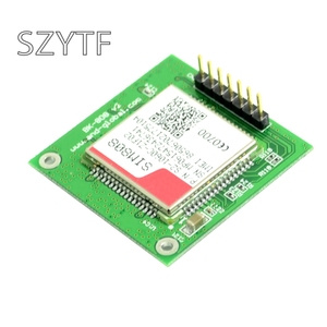 Image 3 - Carte de dérivation GSM GPS SIM808, carte de base SIM808, Module GSMGPRS quadri bande 2 en 1 Module GPSBluetooth intégré