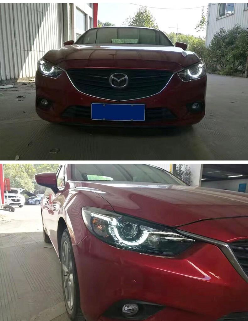 M6 Mazda6 Double Headlight 11