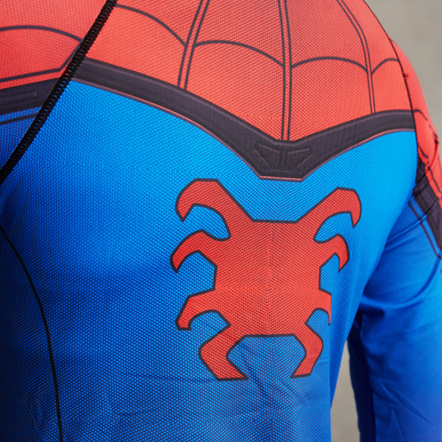 Spiderman 3D Printed Women Compression Shirt