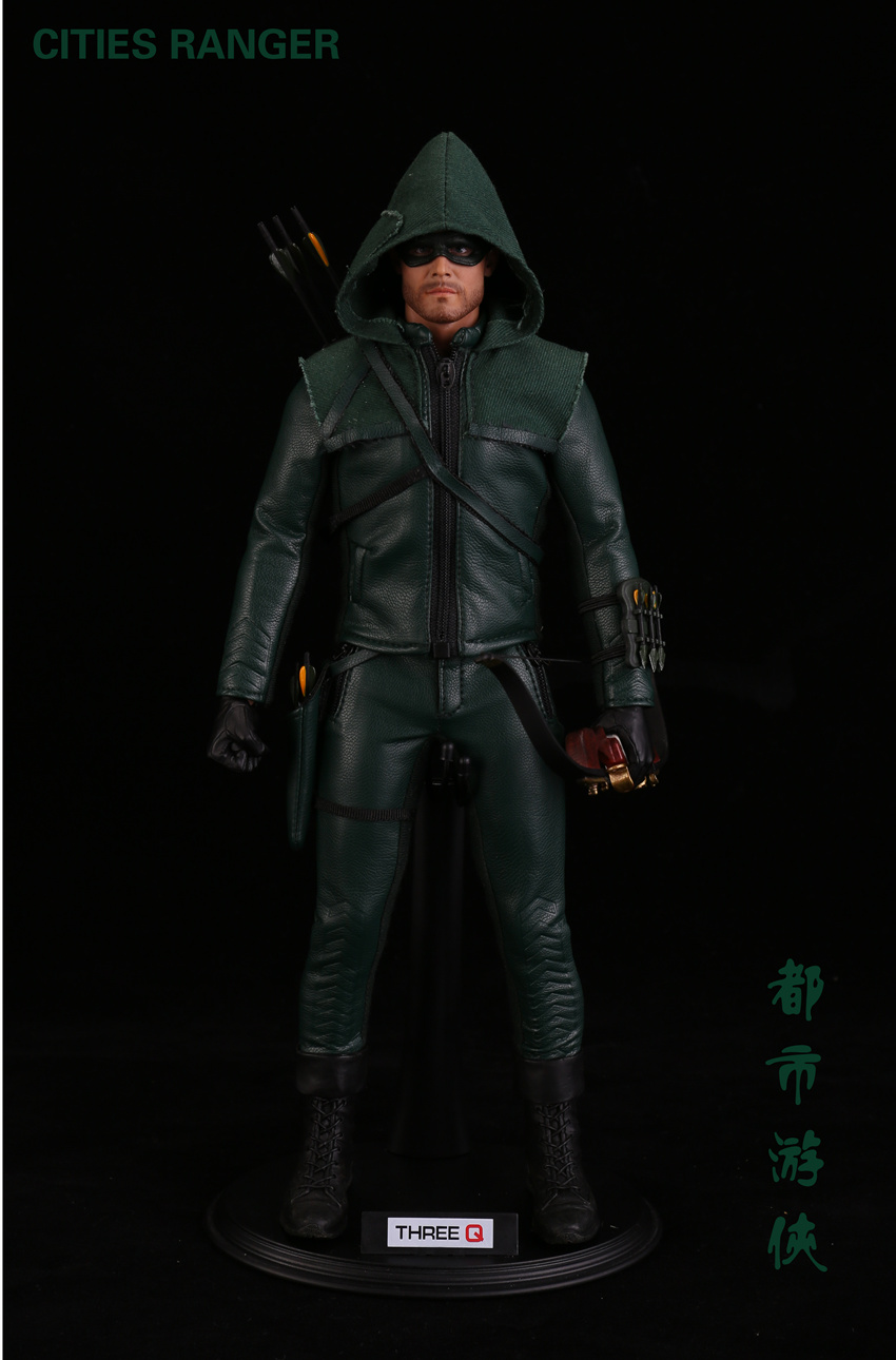 Collectible Full Set TQ1001 1/6 Cities Ranger Oliver Queen Green Arrow DC Hero Drama Series Figure Doll For Fans Holiday Gift