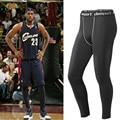 2016 Cotton Mens Pants + Mcdavid Honeycomb Long and Short Kneepad + Elbow Arm Sleeve Trousers Bodybuilding Active Pant