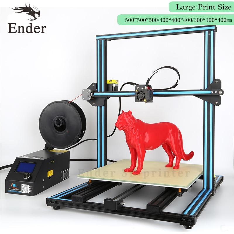 2017 Dual-Leading-screws Rod CR-10S 3D printer Filament Monitoring Alarm Large Print size desktop 3D printer DIY Kit Creality 3D flsun 3d printer big pulley kossel 3d printer with one roll filament sd card fast shipping