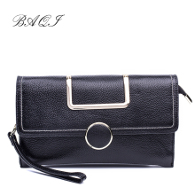 BAQI Women Shoulder Bag Handbags 2019 Fashion Genuine Cow Leather Lady Crossbody Bag Women Messenger Bags Evening bag Purse Girl cow split leather handbag casual women shoulder bag lady crossbody bags simple design v groove messenger bag women s handbags