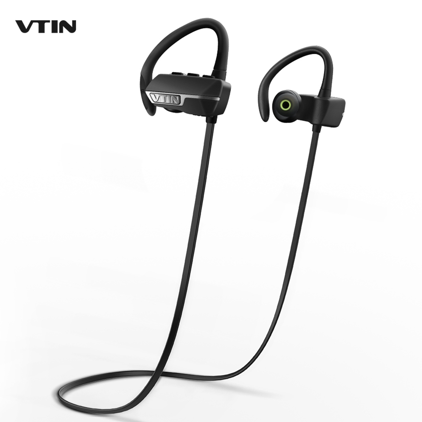 VTIN VBT009B Wireless Bluetooth V4.1 Headset Earbuds with Mic Noise Cancelling in Ear bud Earphone Earbud for iPhone Samsung HTC awei headset headphone in ear earphone for your in ear phone bud iphone samsung player smartphone earpiece earbud microphone mic