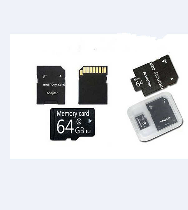 Micro SD Card 32gb 64gb 128gb Class 10 tiny TF Memory Card for tablet/phones free adapter+gift box T-Flash Transflash BT2