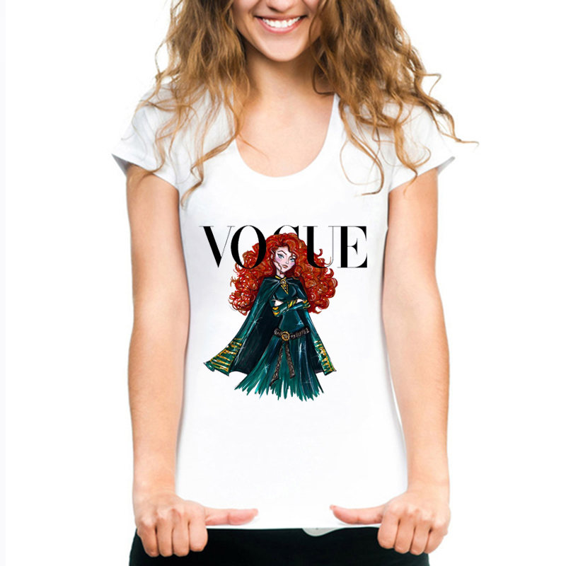 WVIOCE High Quality Woman T Shirt Summer Fashion Print Short Sleeve Round Neck Women Tops Casual Loose Femme Clothing