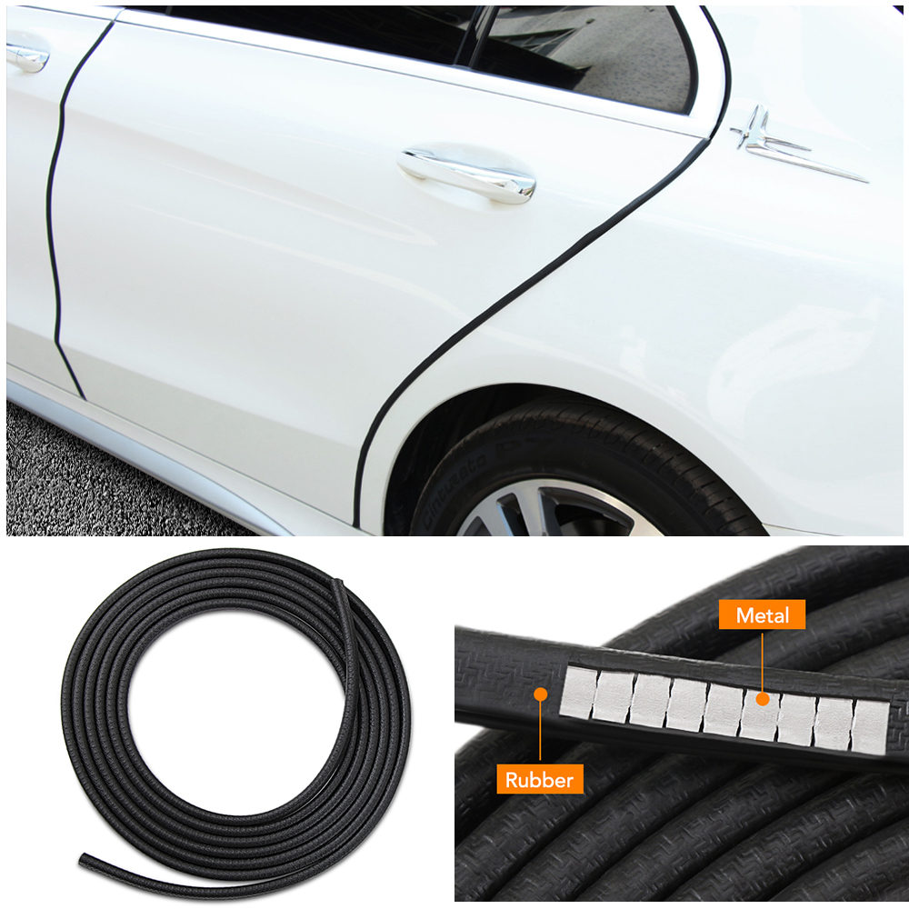 Interior Mouldings 7.5m/10m Rubber Universal Car Door Edge Guards Trim Molding Protection Strip Scratch Protector For Toyota Audi Bmw Vw Ford Sale Overall Discount 50-70% Automobiles & Motorcycles