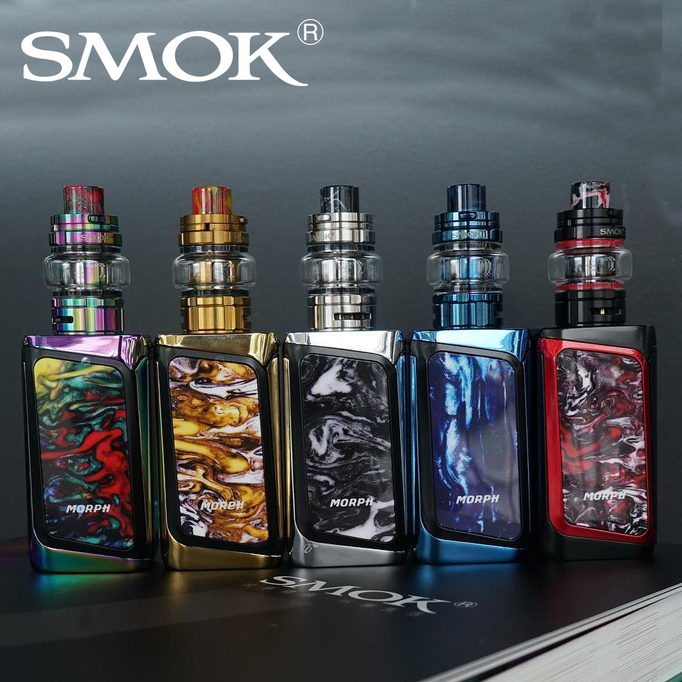 In stock SMOK MORPH 219W TC Kit with 6ml TF2019 Tank 1 9 inch Touch Screen