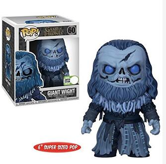 Funko Pop New Arrival 6-Inch Game of Thrones: Giant Wight 60# Vinyl Song Of Ice And Fire Action Figures Collectible Model Toys Funko Pop New Arrival 6-Inch Game of Thrones: Giant Wight 60# Vinyl Song Of Ice And Fire Action Figures Collectible Model Toys