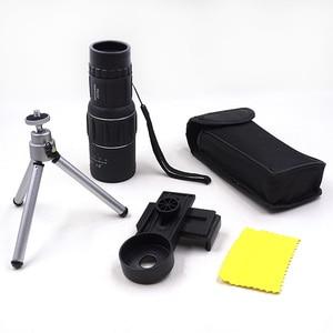 Image 5 - Télescope monoculaire Mobile, Zoom 16x52, objectif de Vision de jour, haute définition, pour la chasse et le voyage