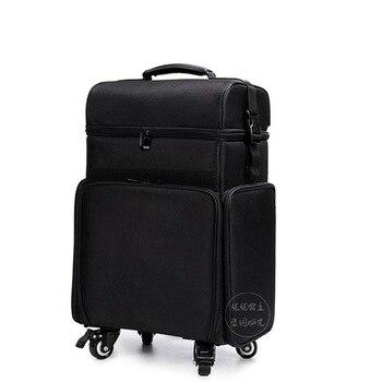 ef4c1a730 De cuento Popular cielo estrellado cielo equipaje rodante de moda de viaje  caso estrella de alta calidad maleta 20