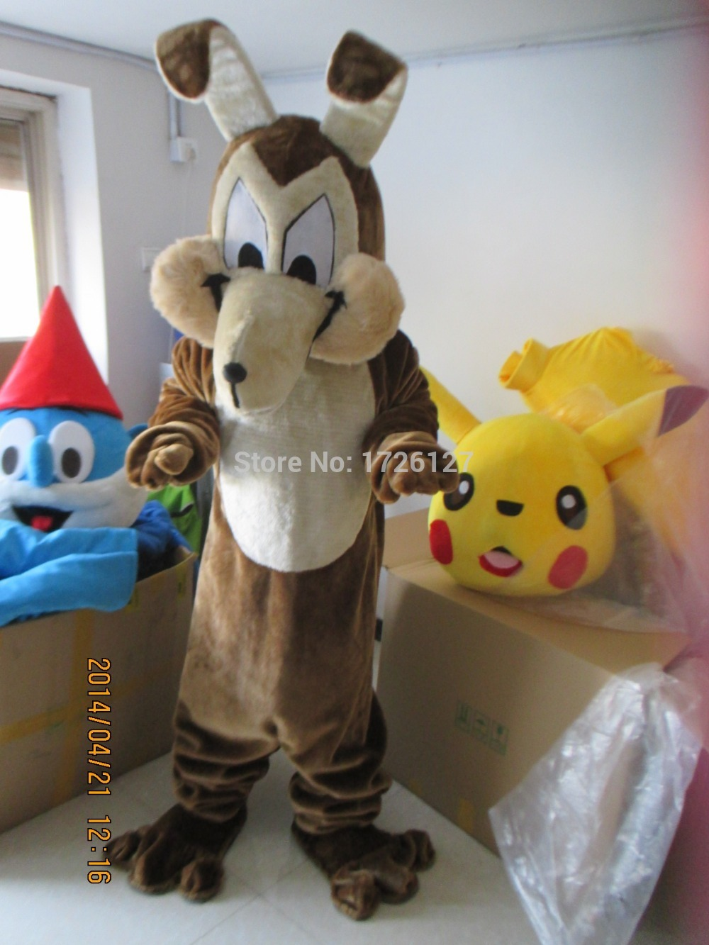 wolf mascot Coyote werewolf costume custom fancy costume anime cosplay character mascotte theme fancy dress carnival costume