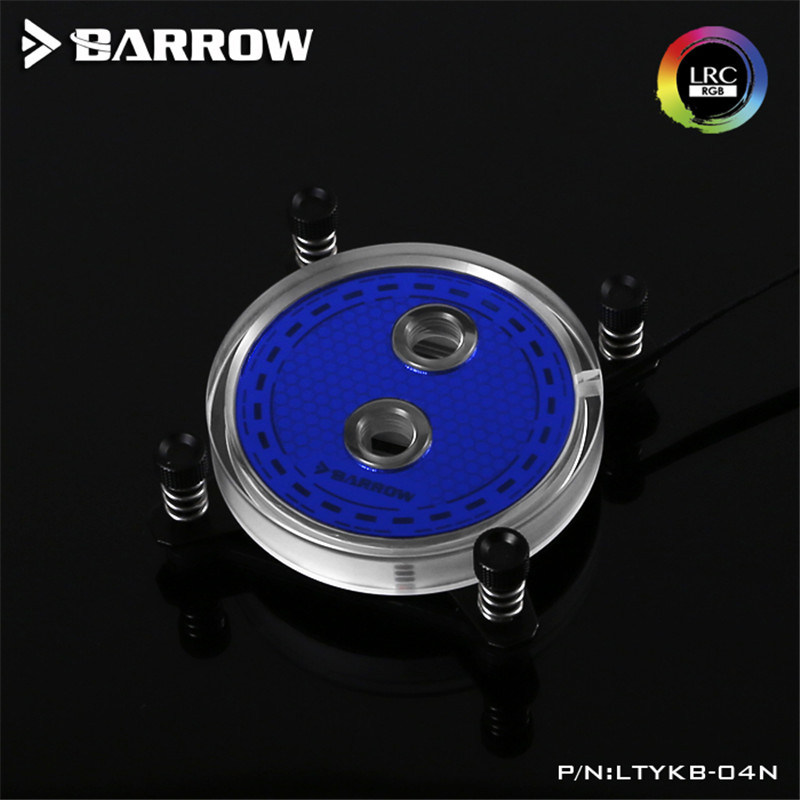 Barrow jet type microchannel CPU water cooling head Rays Edition For INTEL LGA-115X(1150 ...