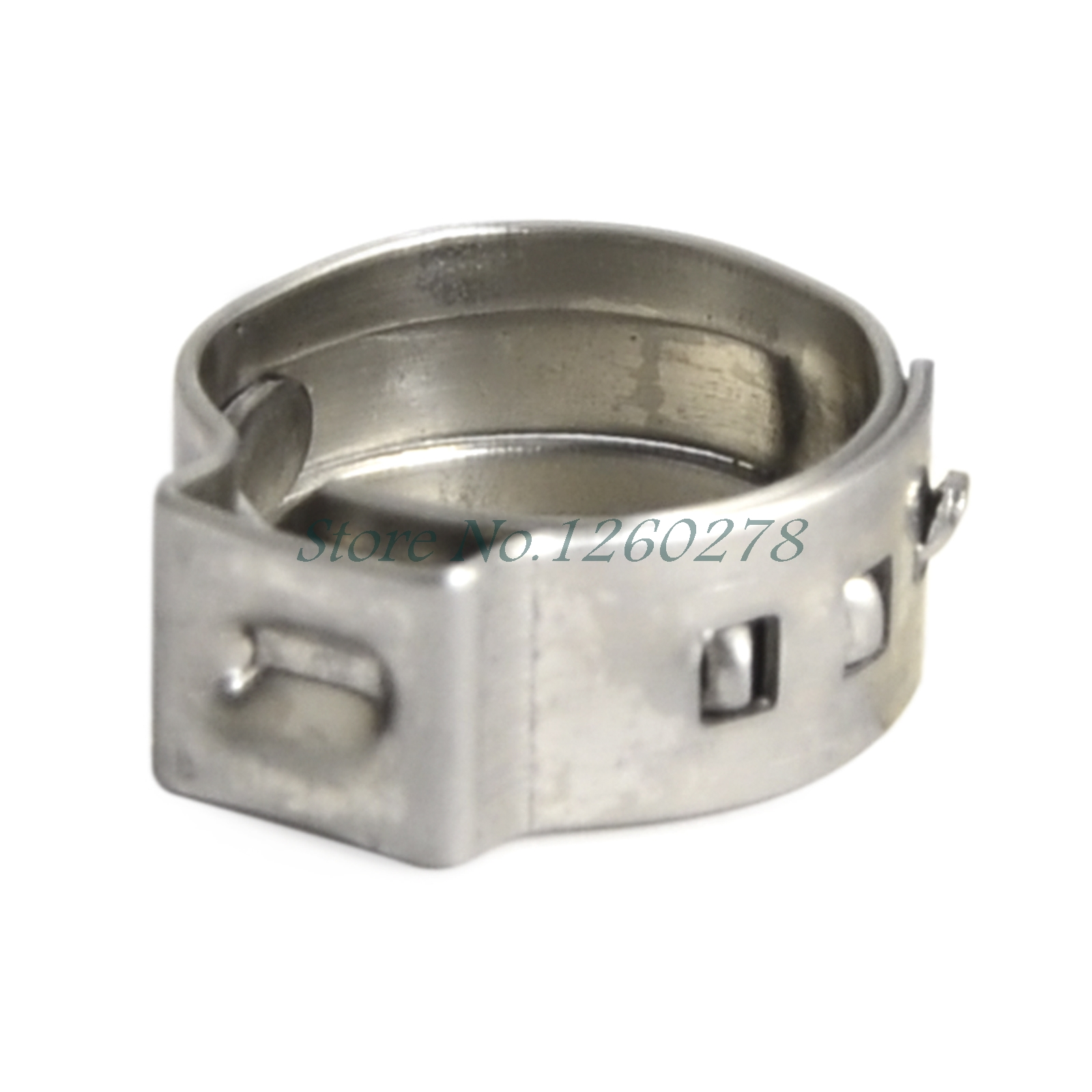 Stainless steel hose pipe clamp cinch ring crimp pinch