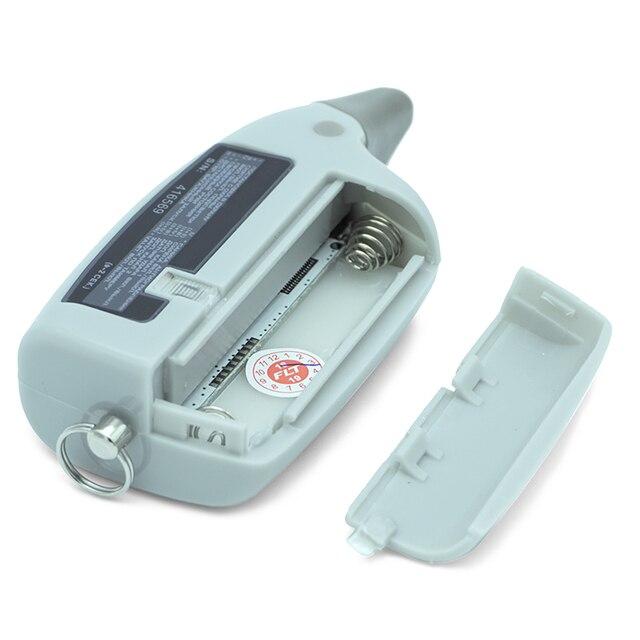 Scher Khan M5 scher-khan M5 Magicar 5 porte-clés LCD système d'alarme de voiture bidirectionnelle nouvelle télécommande/transmetteur fm 4