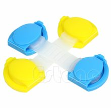 1Pc Kids Children Drawer Cupboard Door Drawer Fridge Box Safety Safe Lock Random Color(China)