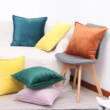 Luxury Velvet  Pillowcase Home Decorative Cushion Cover 45x45cm/50*30cm Kussenhoes Sofa Pillowslip Housse De Coussin