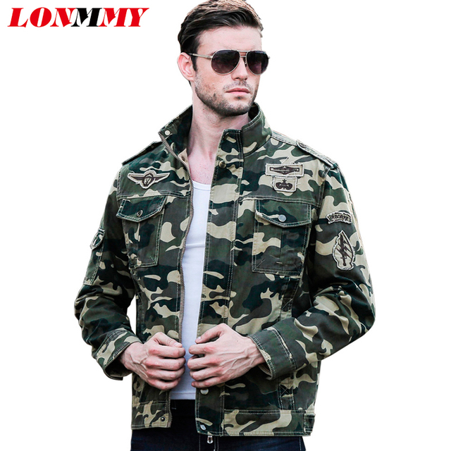 Aliexpress.com : Buy LONMMY 3XL Military jacket men casual mens ...