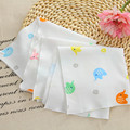 5pcs/lot baby girl bibs baby boy bibs baby bibs handkerchief newborn feeding cushion cotton slabbers AY-DFJ-002