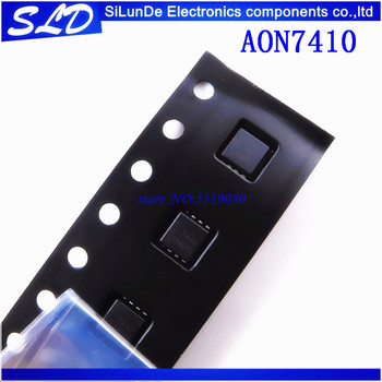 Free Shipping 50pcs/lot AON7410 AO7410 7410 IC AON7410L DFN3x3 image