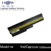 Laptop Battery for IBM ThinkPad Lenovo T60 T61 R60 R61 Z60 R500 T500 SL400 SL500 92P1133 42T4619 92P1138 42T5246 42T4572 42T4511 free shipping original laptop battery for lenovo r60e r61 t60 t60p t61 t61p r500 t500 w500 sl400 sl500 sl300 9cell high capacity