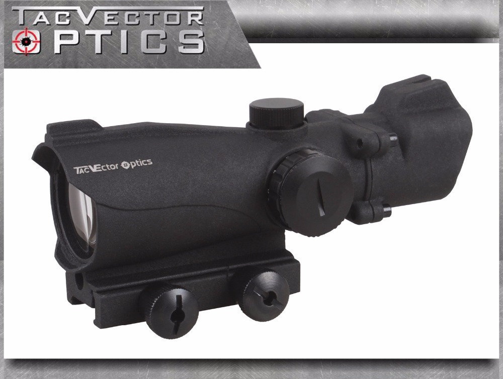 Vector Optics Tactical Condor 2x42 Green Red Dot Scope Weapon Sight with Front Iron Sight 2 Times Magnification vector optics tactical g3 h
