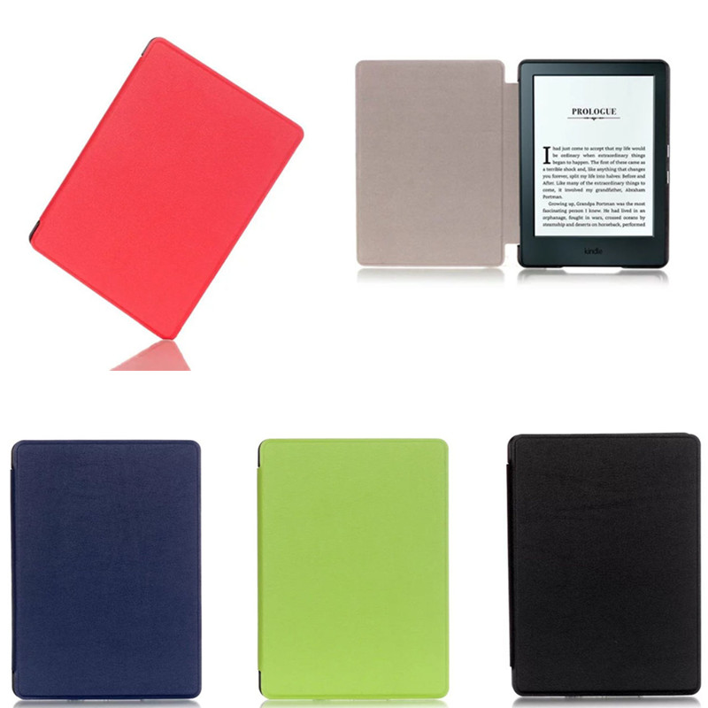 CY  Fashion ultra thin PU Leather Case For Amazon All-New Kindle E-reader 6