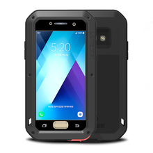 For Samsung Galaxy A5 2017 Case Waterproof Shockproof Luxury A520 Phone Aluminum Armor Metal Cover