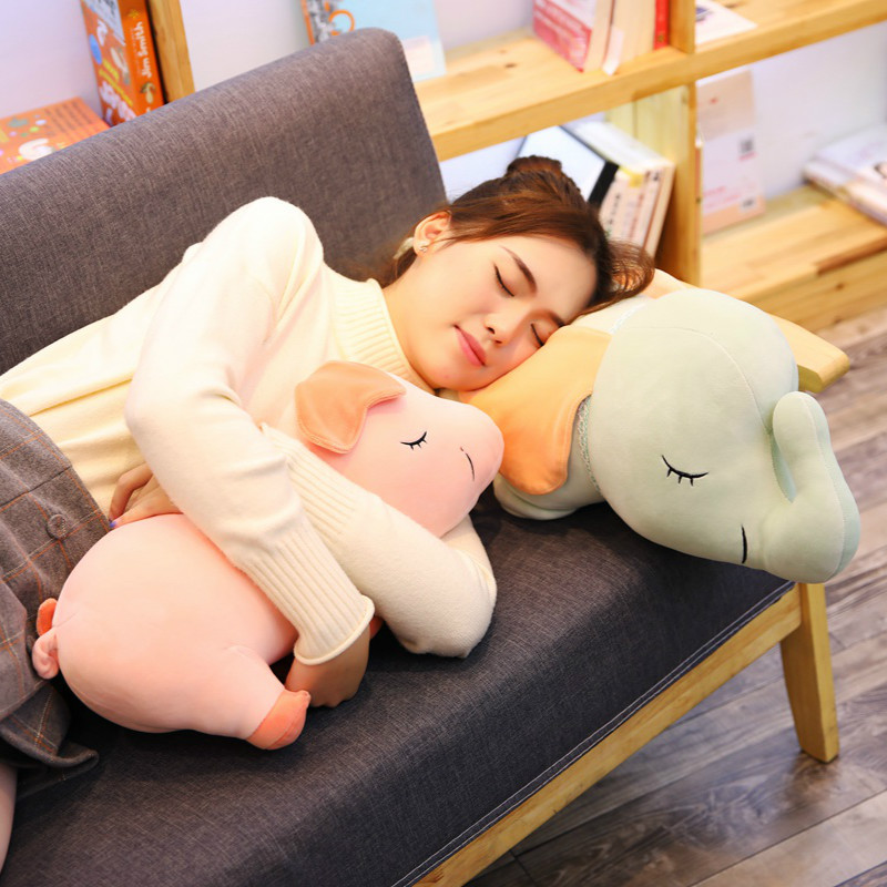 Dolls & Stuffed Toys Kawaii Ali Fox Plush Toy Pillow Cushion Stuffed Animal Plush Doll Sofa Decor Present For Girls Pusheen Doll For Children Last Style