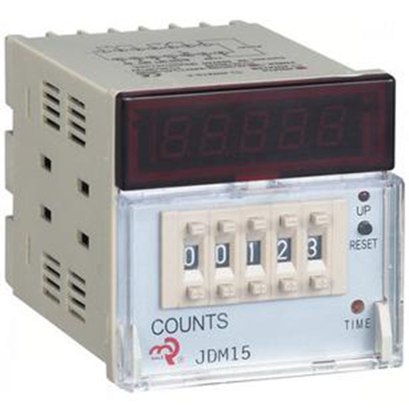 Preset Counter Contacts Photoelectric Counter Punch Counter JDM15 AC/DC 24V 36V 110V 220V 380V /50HZ цена