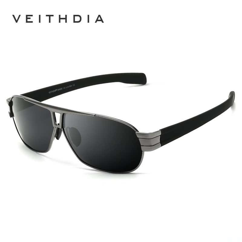 77e04defaae67 Veithdia óculos de Sol Dos Homens Lente Polarizada Motorista Óculos de Sol  Masculinos Condução Óculos Acessórios Para Homens oculos de sol masculino  8516