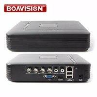 Mini HD 4ch Full D1 Dvr Real Time Recording 4ch AHD 4CH 1080P Hybrid Dvr NVR