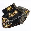 Free shipping cheap mma shorts men fight boxing muay thai short kids mma fight shorts Thicken embroidery Kickboxing 3 colors