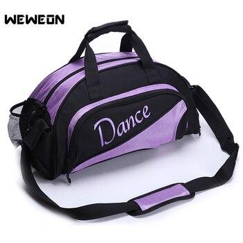 Женская спортивная сумка с рисунком для занятий спортом, спортивные женские сумки для йоги/танцев на одно плечо, сумки для занятий йогой